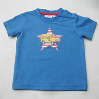 Kids Blue T-Shirt - Raj Knit Fashion
