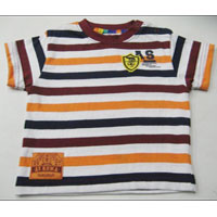 Kids Striped T-Shirt - Raj Knit Fashion