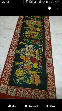 Kalamkari Patch Work Sarees