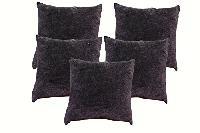 velvet stone wash cushion cover