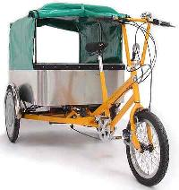Battery Assisted Tri Cycle Rickshaw