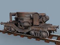 Steel Ladle Transfer Car