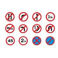 Traffic Mandatory Signs