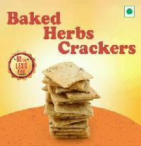 Baked Herbs Crackers