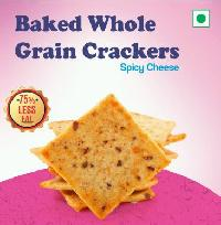 Baked Whole Grain Crackers