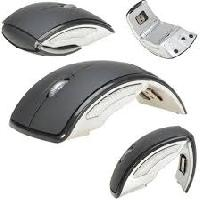 Arc Folding Wireless Optical Gaming Mouse