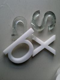 Letter Acrylic Cutting Services