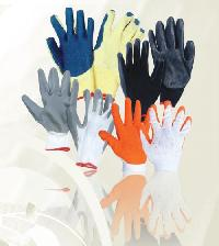 Latex Nitrile Pu Coated Gloves
