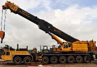 Tyre Mounted Lattice Boom Crane Rental Service