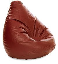Leather Jumbo Shaped Bean Bag