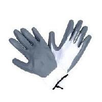 Nitrile Pu Coated Knitted Hand Gloves