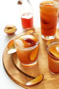 Peach Flavoured Iced Tea