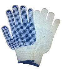 Cotton Pvc Dotted Hand Gloves(dotted Hand Gloves)