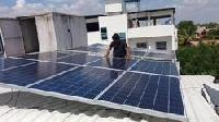Solar Power Plant Installation