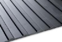 Flat Ribbed Rubber Mats