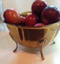 Copper Fruit Bowls