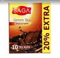 Saga Green Tea Chocolate