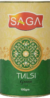 Saga Premium Tulsi Green Tea