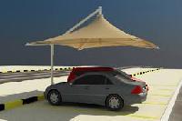 Car Parking Tensile Structure