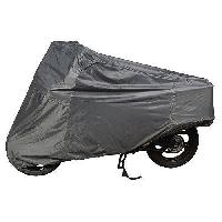 Double Coat Silver Bike Cover