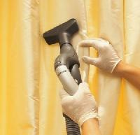 Curtain Steam Cleaning.