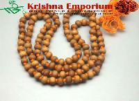 White Chandan Mala 108 Beads