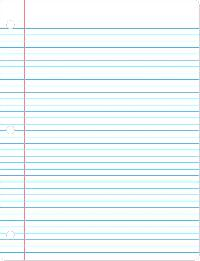 Writing Paper Notebook