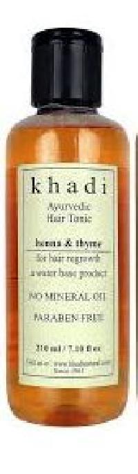 Khadi Henna & Thyme Ayurvedic Hair Tonic