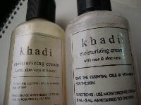 Khadi Rose & Aloe Vera Moisturizing Cream