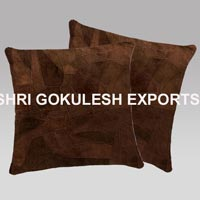 Suede Leather Cushion Covers