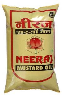 Mustard Oil (neeraj Band - Pouch) 1 Ltr.