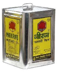 Mustard Oil (neeraj Band - Tin Container) 15 Ltr.