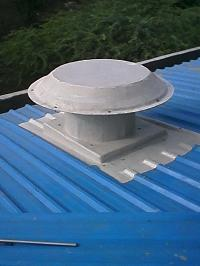 Motorized Roof Extractor