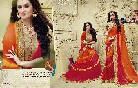 bandhej designer sarees 3204