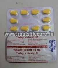 Tadagra Strong-40 Tablets