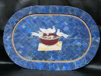 Marble Inlay Mosaic Table Tops