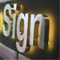 Led Metal Signs Boards