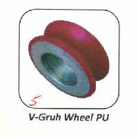 Pu And Rubber V-gruh Wheel