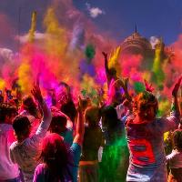 Organic Holi Color Powder