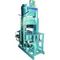 Oil Hydraulic Press With Paver Block Machine