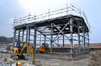 Steel Frame Structure Fabrication