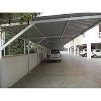 Common Parking Shade Fabrication