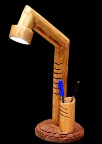 Bamboo Led Table Lamp