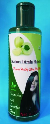 Natural amla hair oil