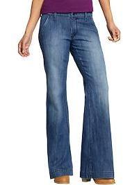 Ladies Bell Bottom Jeans