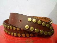 Leather revit belt