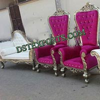 Asian Wedding Decorated Stage Furniture