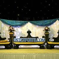 Asian Wedding Royal Black Furniture