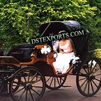 Black Wedding Carriage