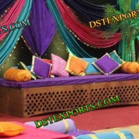 Designer Wedding Mehandi Stage Set